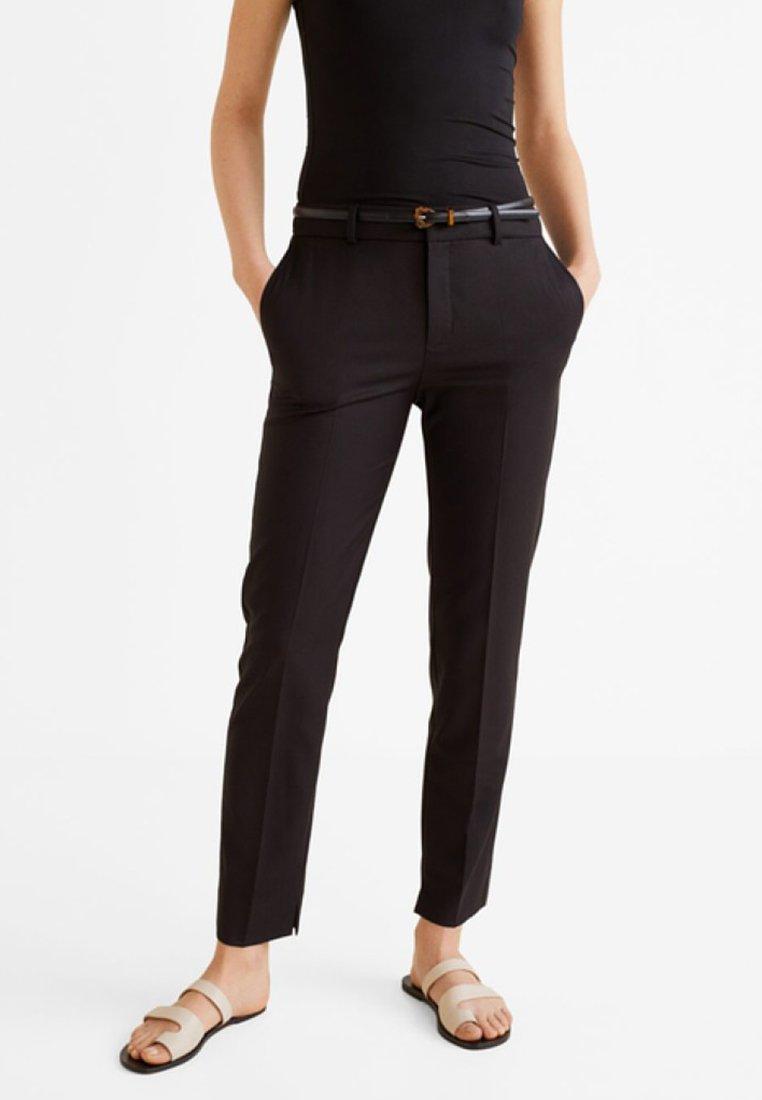 Mango - BOREAL - Pantaloni - black