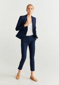 Mango - COFI - Trousers - navy blue - 1
