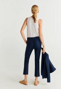 Mango - COFI - Trousers - navy blue - 2