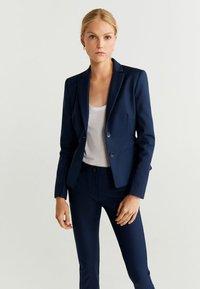 Mango - COFI - Trousers - navy blue - 3
