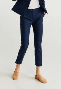 Mango - COFI - Trousers - navy blue - 0