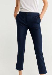 Mango - COFI - Trousers - navy blue - 4