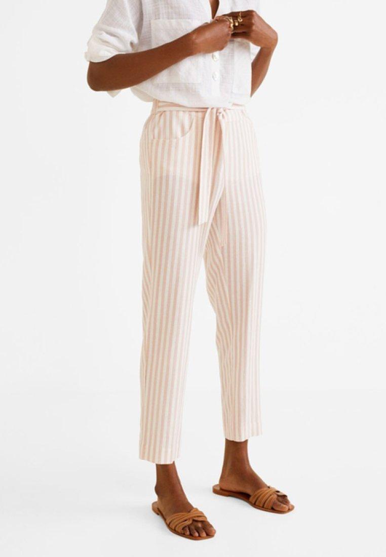 Mango - ROMA - Pantalon classique - pastel pink