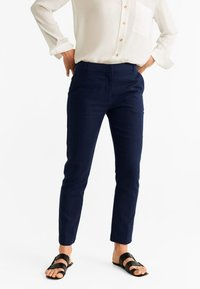 Mango - TEA - Pantalon classique - dark navy blue - 0