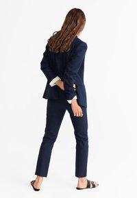 Mango - TEA - Pantalon classique - dark navy blue - 2