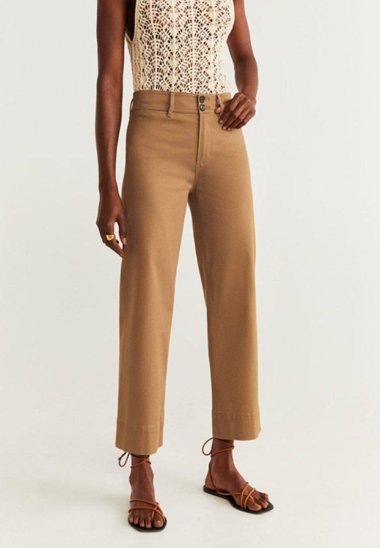 Mango - TATIN - Trousers - brown