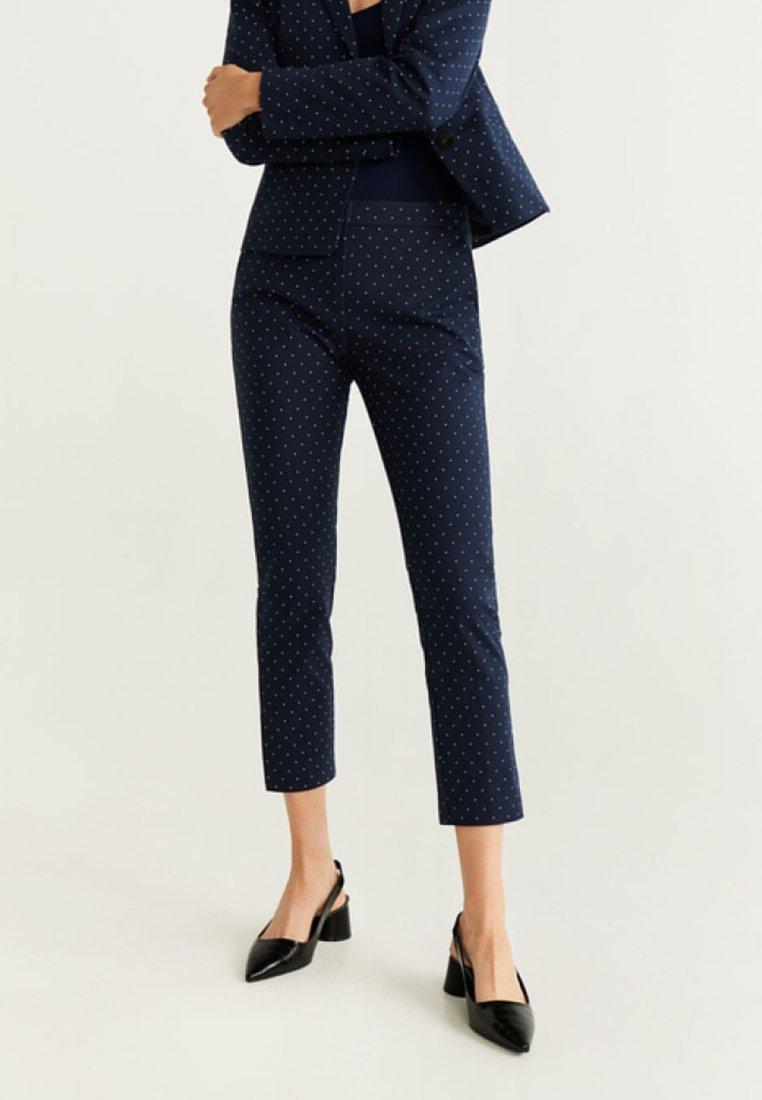 Mango - COFIP - Trousers - dark blue