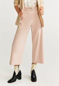 Mango - CHANDLER-H - Pantalon classique - pastel pink - 0