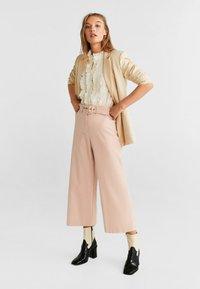 Mango - CHANDLER-H - Pantalon classique - pastel pink - 1