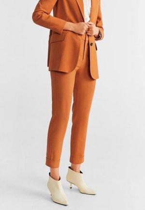 TULIPAN - Pantalon classique - orange