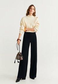 Mango - PALACHIN - Pantalon classique - black - 1