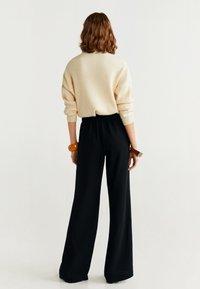 Mango - PALACHIN - Pantalon classique - black - 2