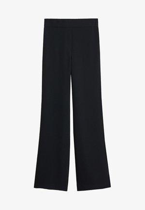 PALACHIN - Pantalon classique - black