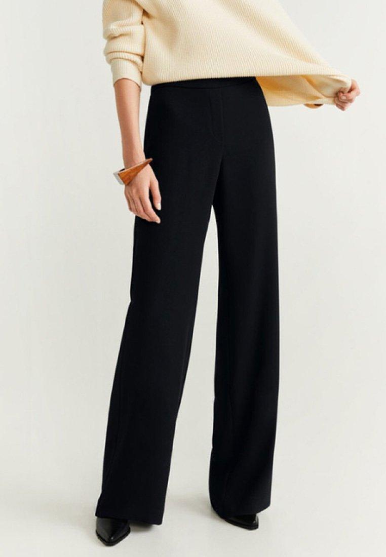 Mango - PALACHIN - Pantalon classique - black