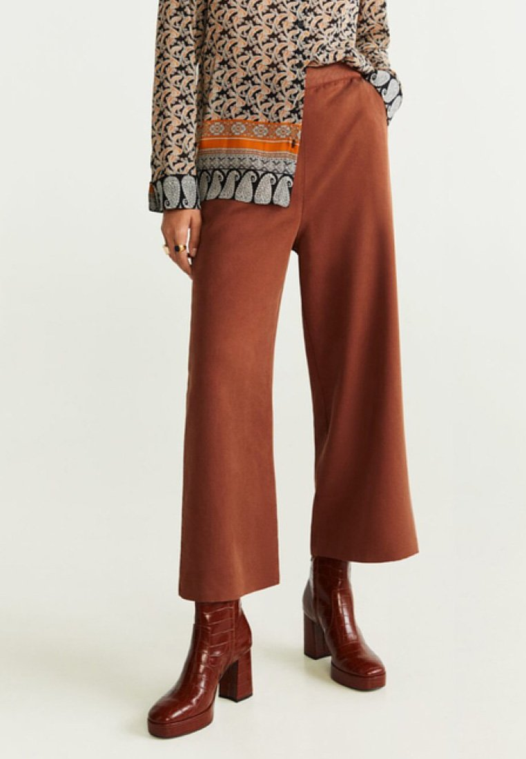 Mango - SUNDAY - Stoffhose - brownish orange