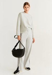 Mango - ALFA - Trousers - grey - 1