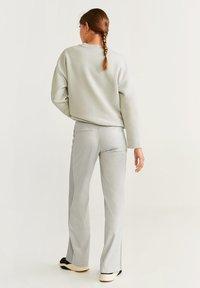 Mango - ALFA - Trousers - grey - 2