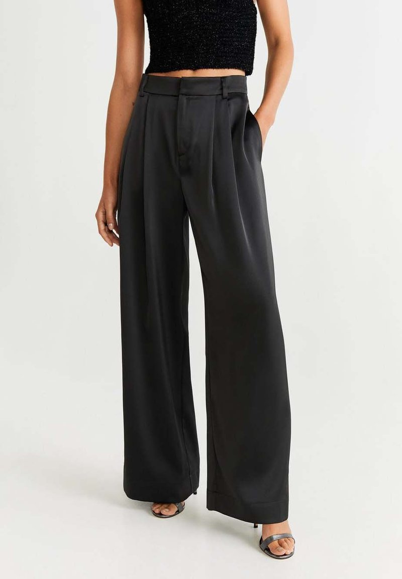 Mango - SATI-I - Pantalon classique - black