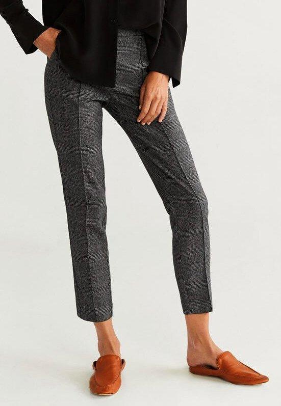 Mango - WARM - Spodnie materiałowe - grey
