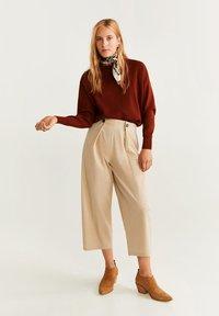 Mango - GUMP - Spodnie materiałowe - beige - 1