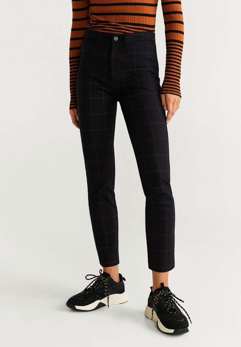 Mango - ISLAND - Trousers - black