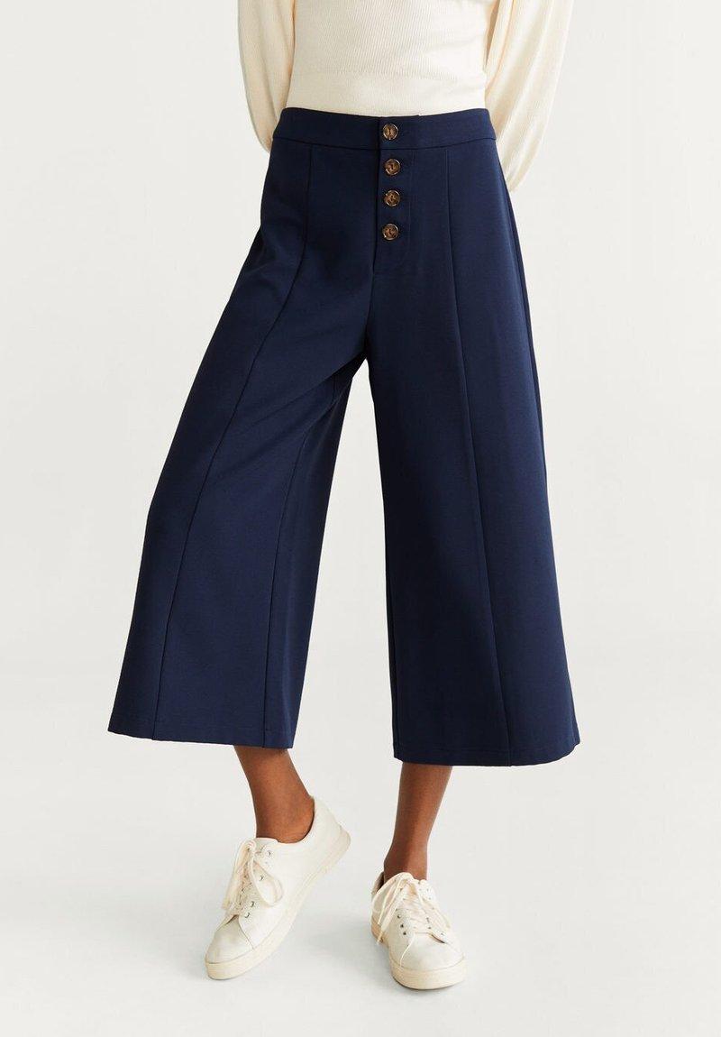 Mango - PACK - Stoffhose - navy blue