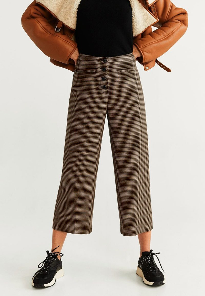 Mango - CELSO - Pantalon classique - sandfarben