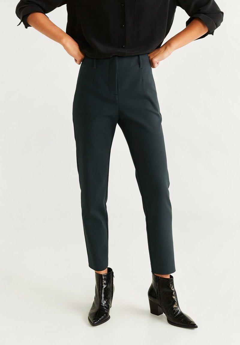 Mango - ALBERTON - Trousers - dark green