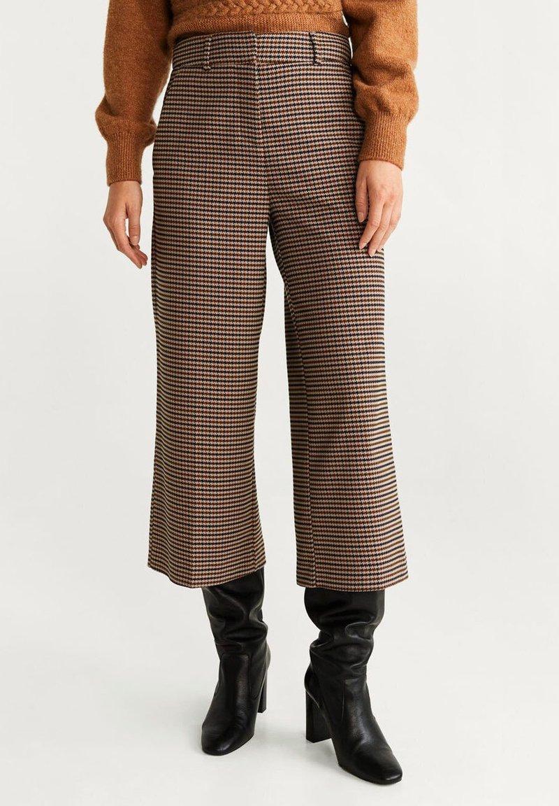 Mango - BERMU - Trousers - dark navy blue