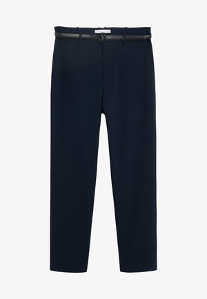 GERADE ANZUGHOSE - Trousers - royal blue