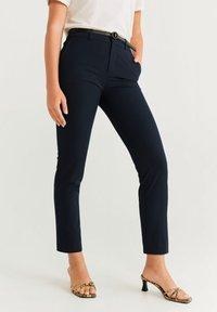 Mango - BOREAL6 - Suit trousers - royal blue - 0