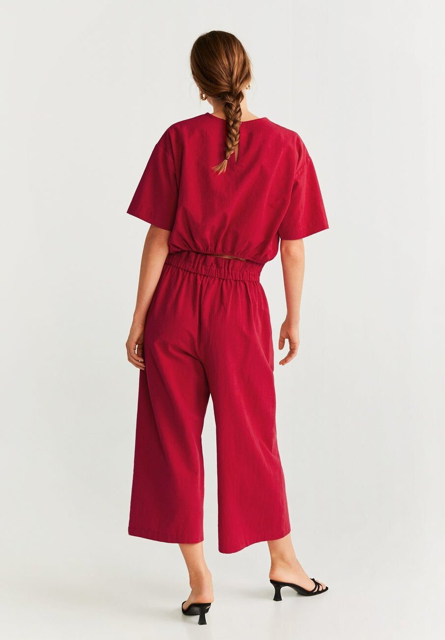 Mango RUBENS-H - Pantalon classique red