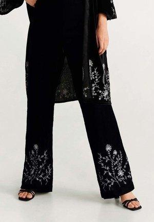 MOSS - Pantalon classique - black