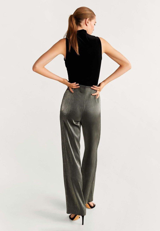 Mango STUDIO - Spodnie materiałowe - dark grey