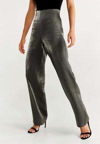 Mango - STUDIO - Pantalones - dark grey - 0