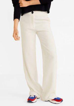 SIMON - Trousers - beige