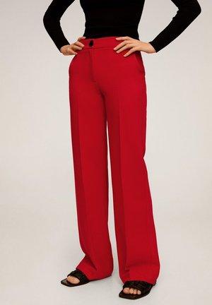 SIMON - Trousers - rot