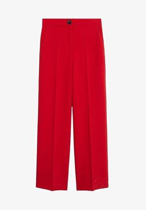 SIMON - Pantalon classique - rot