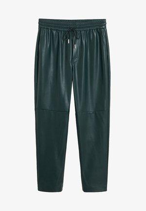 APPLE - Spodnie materiałowe - dark green