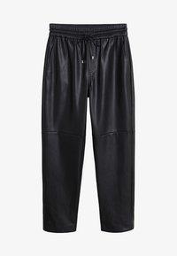 Mango - APPLE - Pantalon classique - black - 3