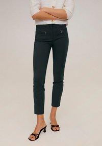Mango - SAMUEL - Trousers - green - 0
