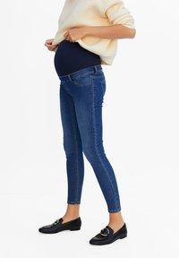 Mango - PITIMAT - Jeans Skinny - medium blue - 0