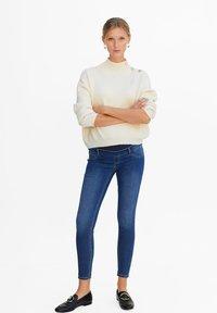 Mango - PITIMAT - Jeans Skinny - medium blue - 1