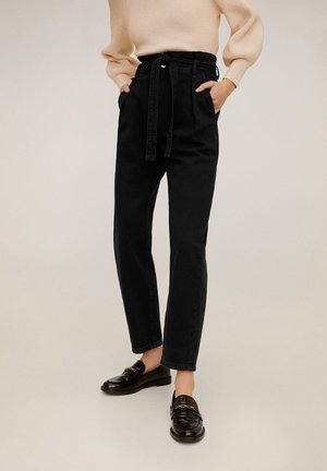 CARROT - Jean boyfriend - black denim