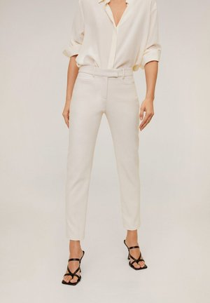 ALBERTO - Trousers - Cream white