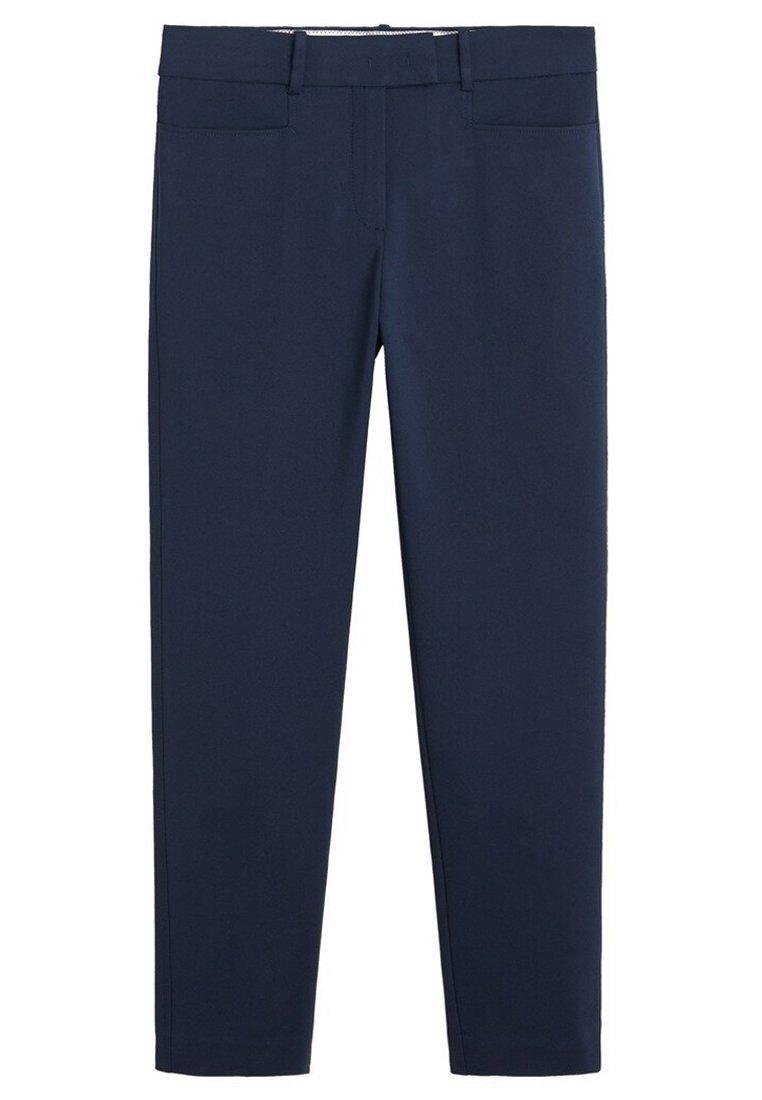 Mango ALBERTO - Spodnie materiałowe - dark navy blue