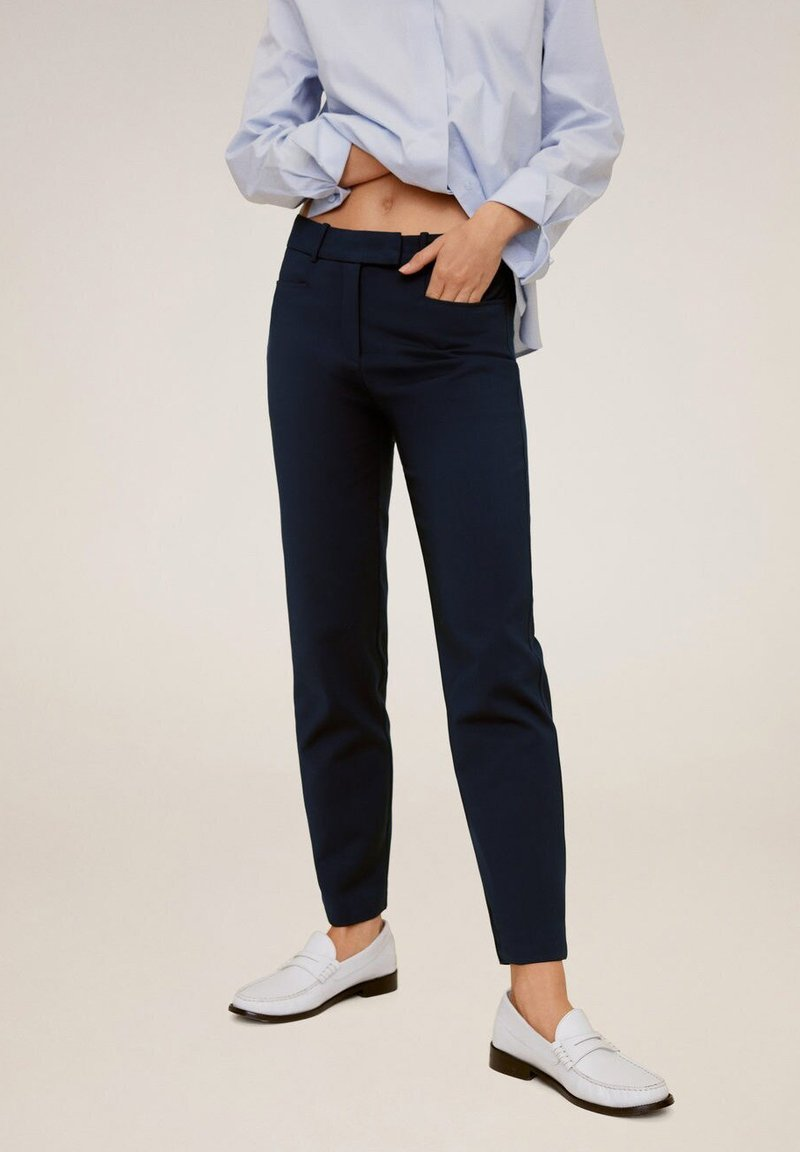 Mango - ALBERTO - Pantalon classique - dark navy blue