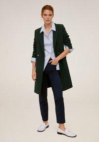 Mango - ALBERTO - Pantalon classique - dark navy blue - 1