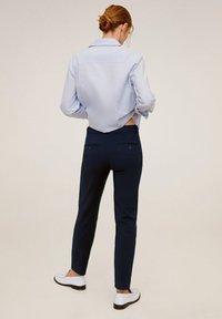 Mango - ALBERTO - Pantalon classique - dark navy blue - 2