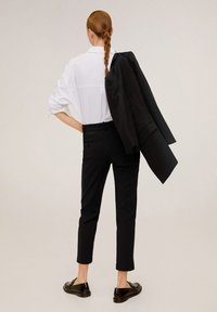 Mango - ALBERTO - Trousers - black - 2